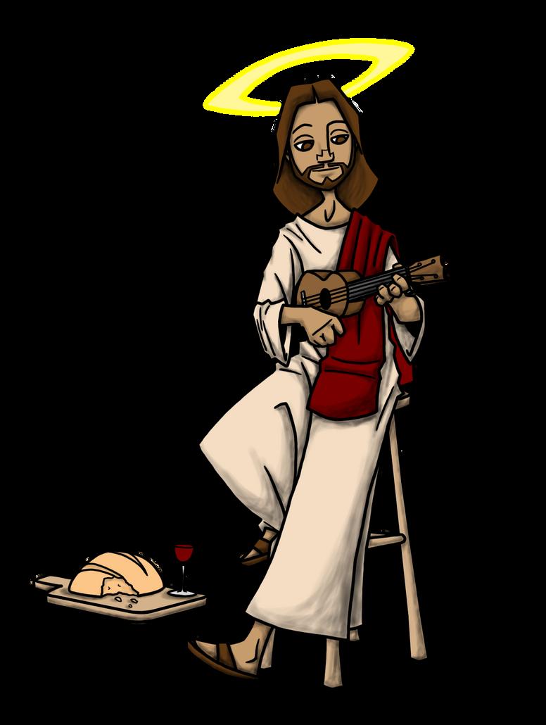 Uke Jesus by Jack042