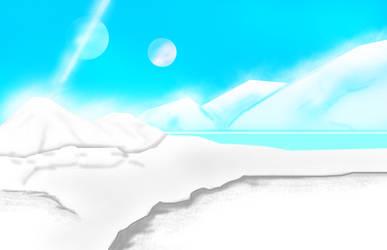 Ice Planet (BG Scene) by ShaozChampion