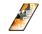 Slant Badge GIMP User by ShaozChampion