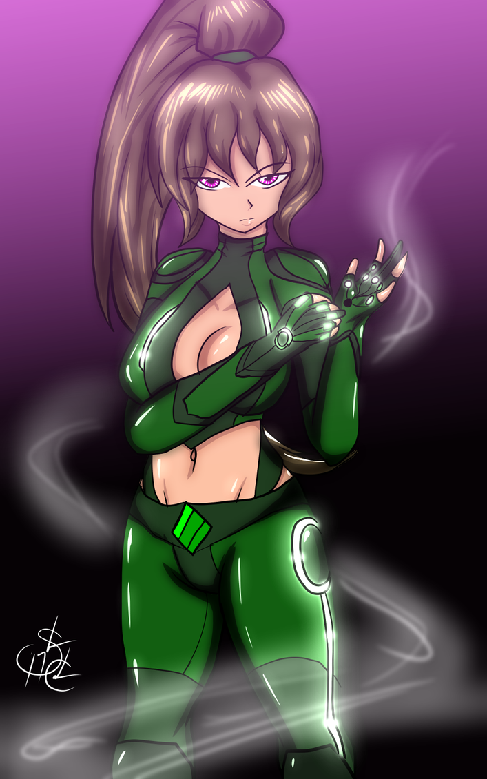 The Emerald Typhoon Starknight by ShaozChampion
