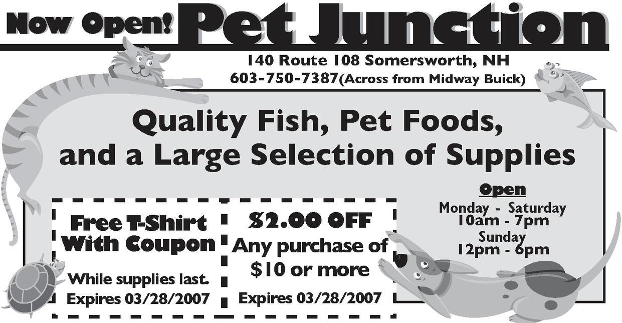 Petshop advertisement