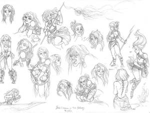 Hahli Expression Practice (Sketch)