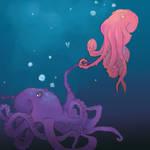 Octopus Looove by Potatoskin