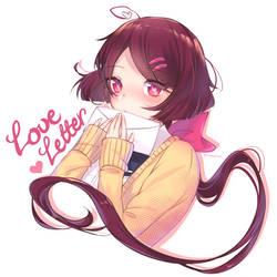 Setsuna from Love Letter: My True Feelings