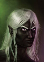 Drizzt Do'Urden (old) by DaviTunes