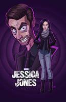 Smile - Jessica Jones by kelvin8