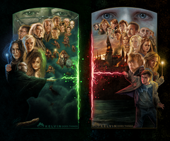 Harry Potter and the Deathly Hallows by kelvin8
