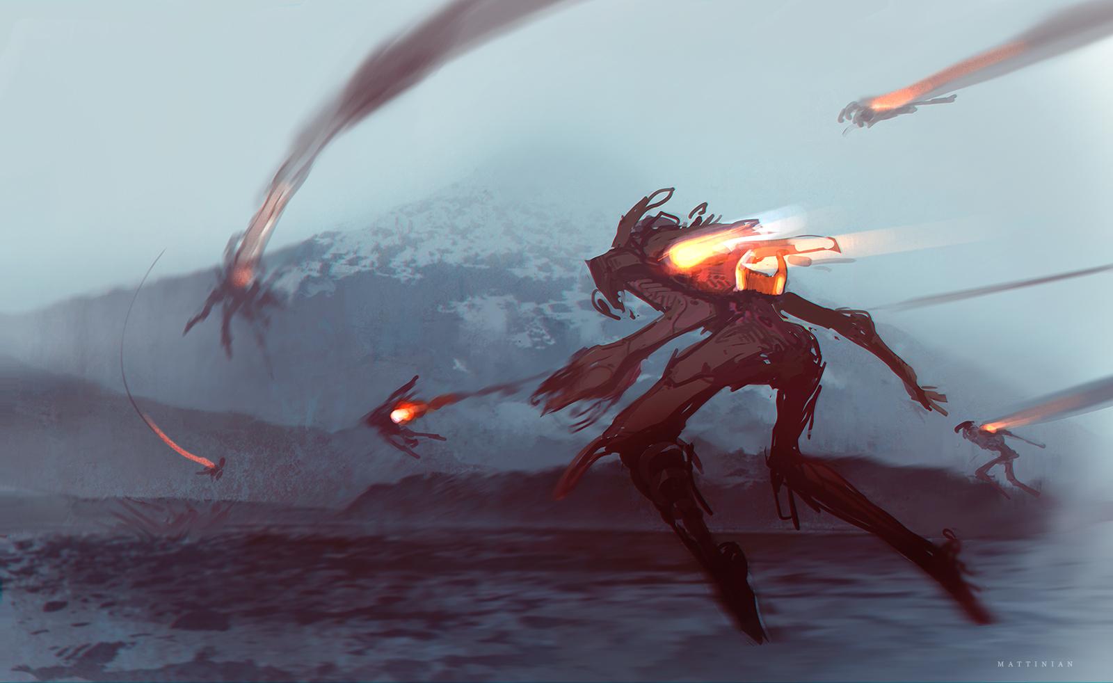 sci-fi sketch_2 by Mattinian