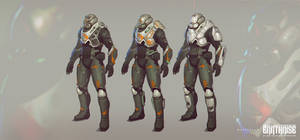 Earthrise Concepts 18 by Mattinian