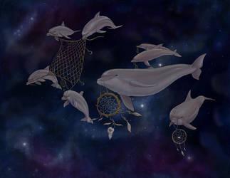 Fishing for dreams... by tallydragon