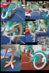 Haku Mixed Media Dragon - image collage