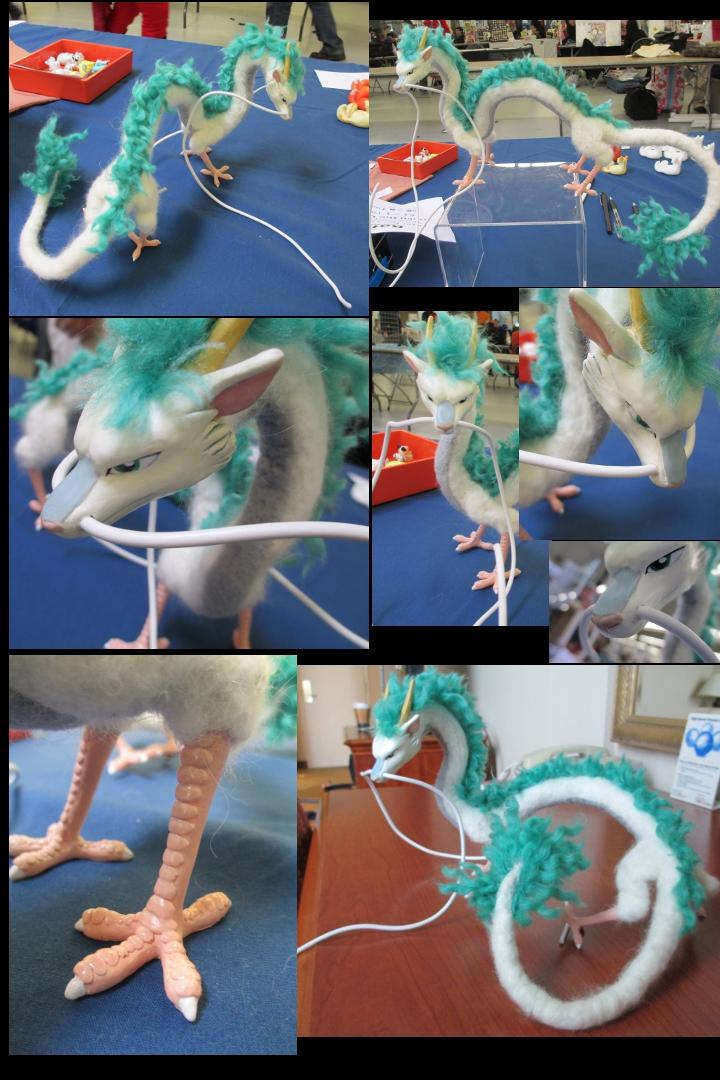 Haku Mixed Media Dragon - image collage by tallydragon