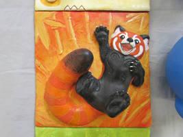 Red Panda Wall Tile