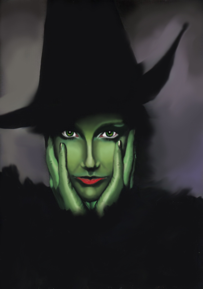 A Wicked Witch by killer-queen-g on DeviantArt