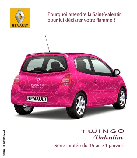 renault twingo valentine by bispro on deviantart. Black Bedroom Furniture Sets. Home Design Ideas