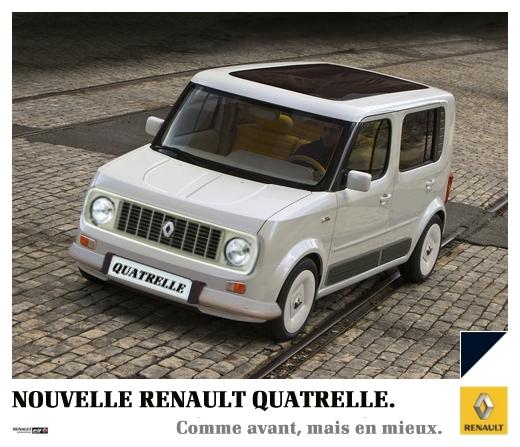 Renault Car Wallpaper: Renault Quatrelle By Bispro On DeviantArt