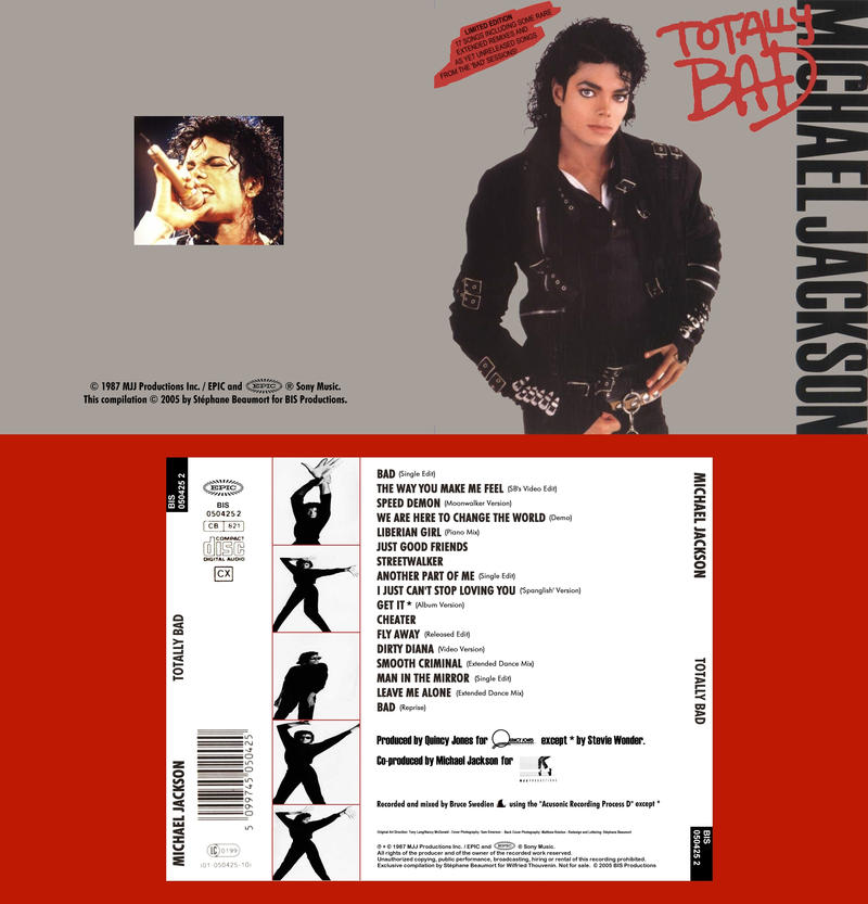 Michael Jackson's TOTALLY BAD by Bispro on DeviantArt