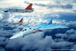 F-108 Rapier and F-106 Darts by Bispro