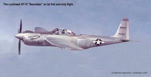 USAF Lockheed XP-73 Swordstar