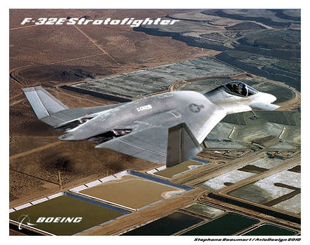 Boeing F-32E Stratofighter by Bispro