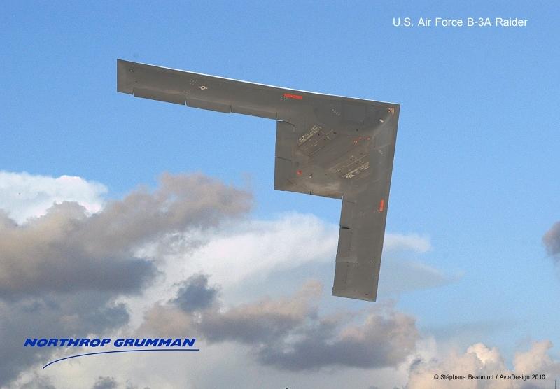 Northrop Grumman B-3A Raider by Bispro