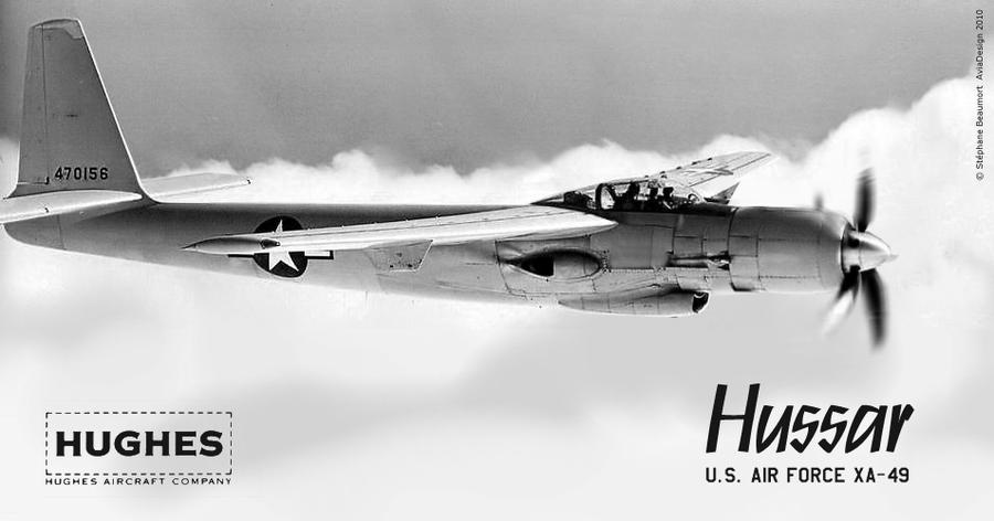 Hughes XA-49 Hussar - no 'D' by Bispro