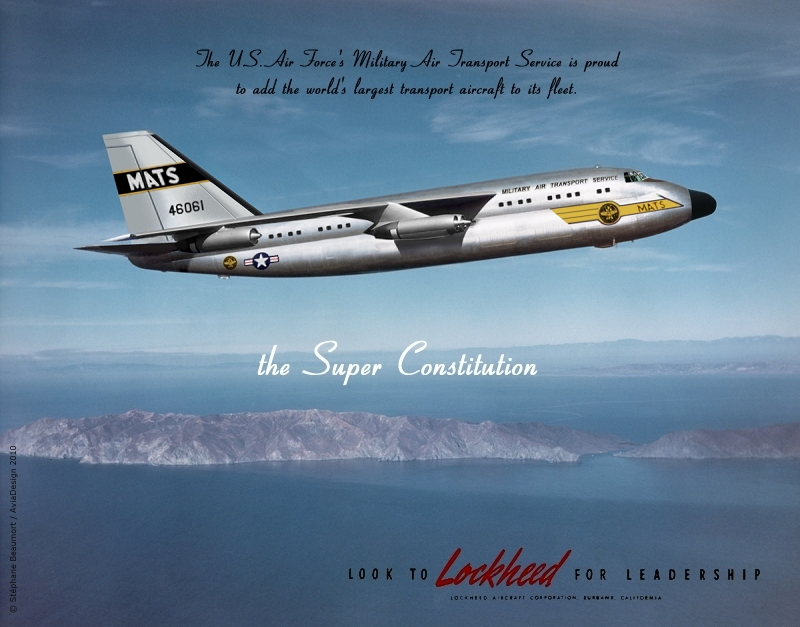 Lockheed Super Constitution by Bispro