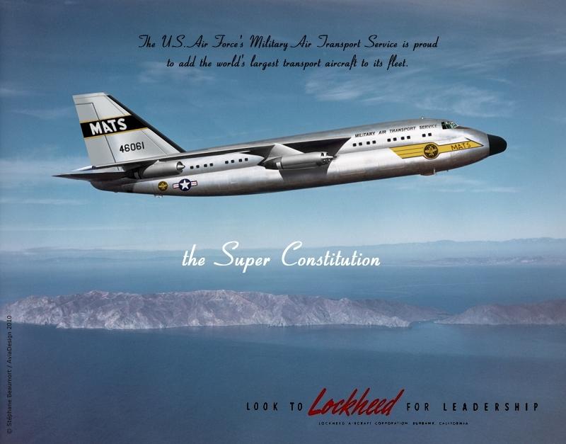 Lockheed Super Constitution by Bispro