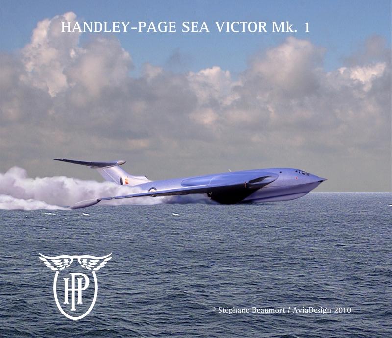 Handley Page Sea Victor Mk. 1 by Bispro on DeviantArt