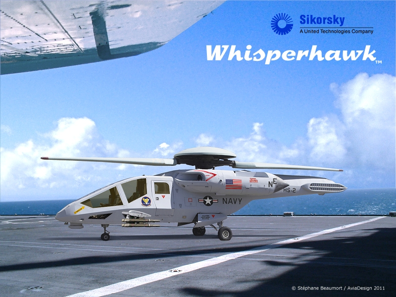 Sikorsky SH-82A Whisperhawk by Bispro