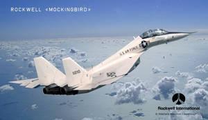 Rockwell F-X Mockingbird