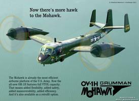 Grumman OV-1H Mohawk II by Bispro