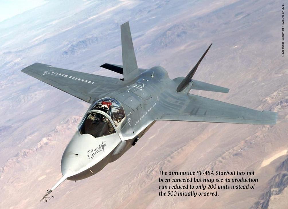 Lockheed Martin F-45 Starbolt by Bispro