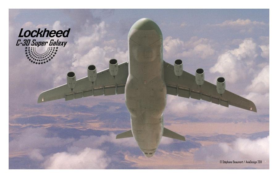 Lockheed C-30A Super Galaxy by Bispro