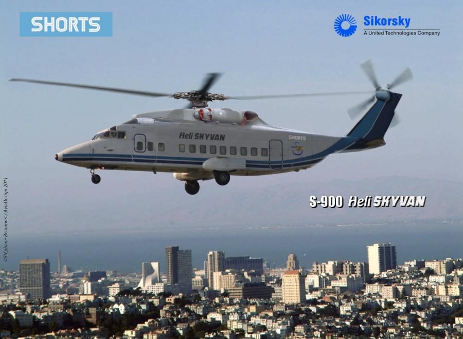 Shorts S-900 Heli Skyvan by Bispro