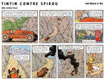 Tintin contre Spirou: une course folle by Bispro