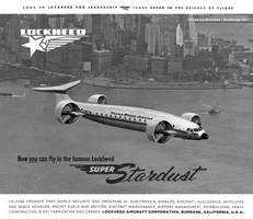 Lockheed Model 98 Super Stardust by Bispro