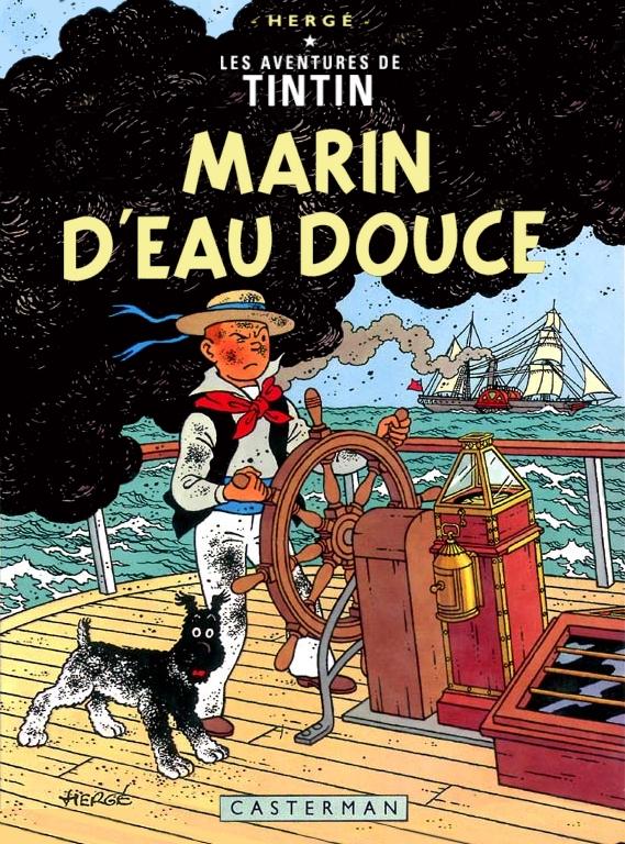 Tintin comics french