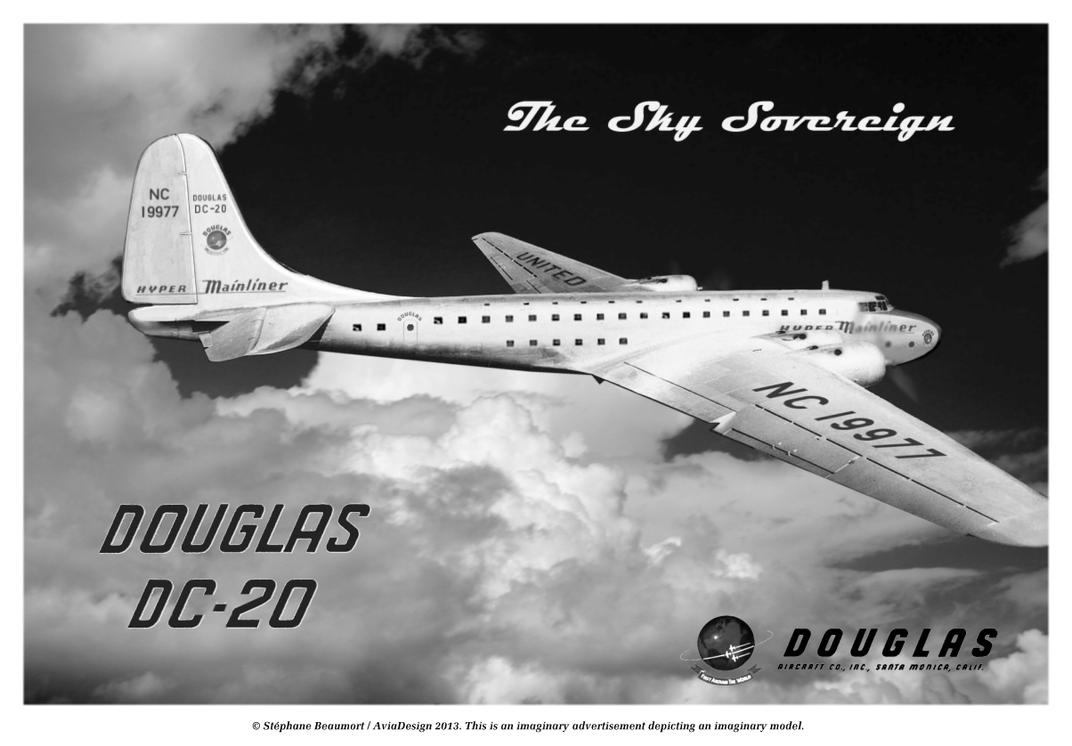 Douglas DC-20 'Sky Sovereign' by Bispro