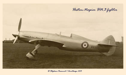 Heston-Napier HN.3 Fighter