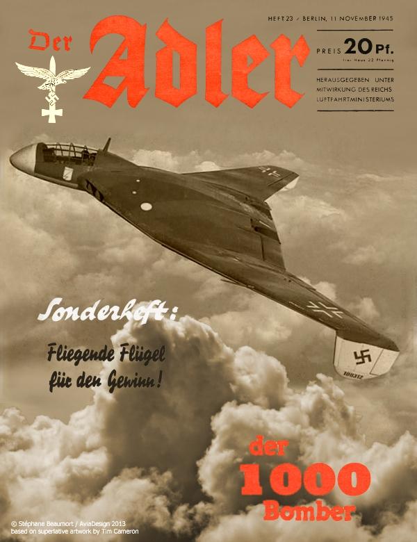 Der Adler - Focke-Wulf 1000 x 1000 x 1000 bomber