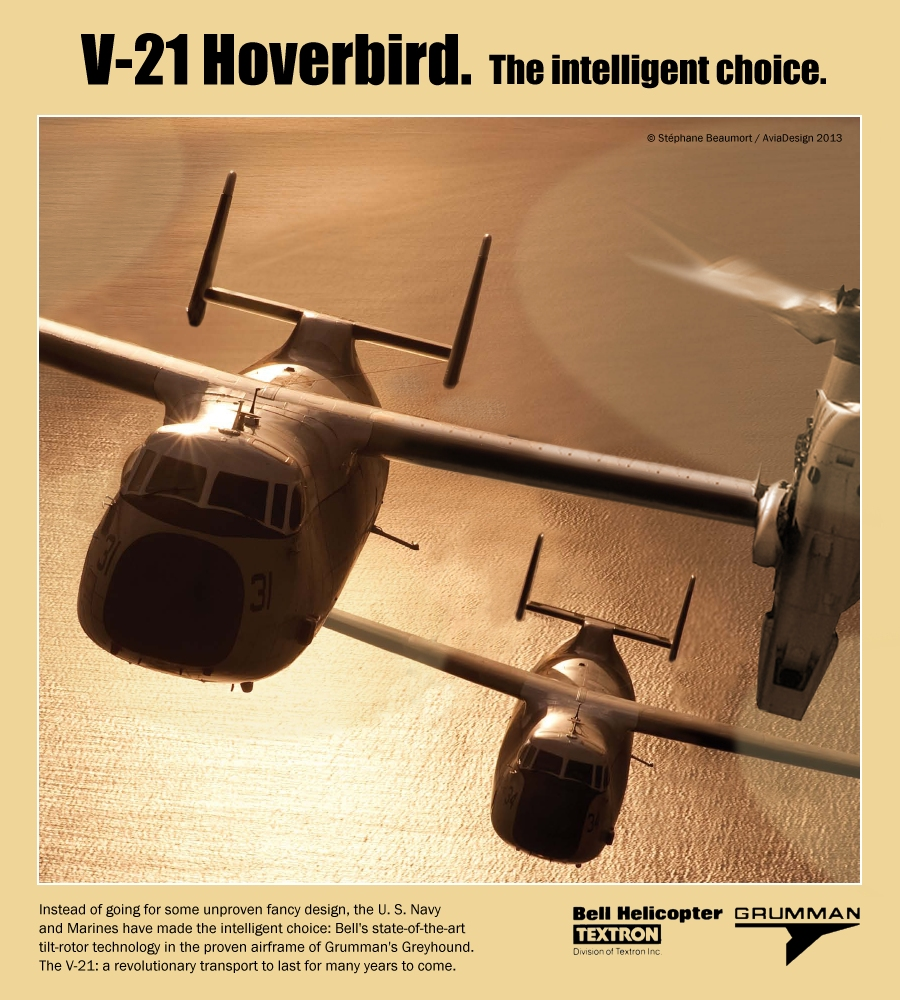 Bell-Grumman V-21 'Hoverbird'
