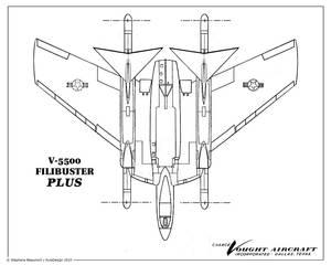 Vought V-5500 ''Filibuster Plus''