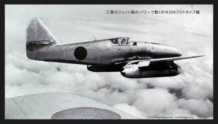 Kawasaki Ki-204 ''Hien-kai''