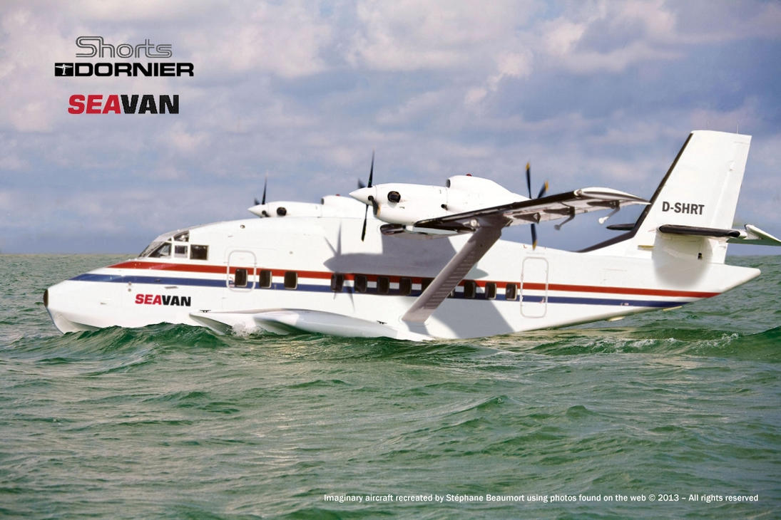 Shorts-Dornier CDS-800 ''SeaVan'' by Bispro