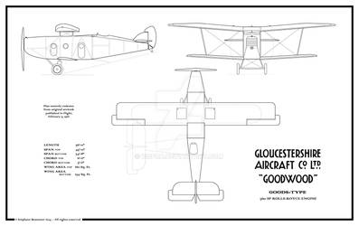 Gloster G.21 Goodwood (real 1922 project)