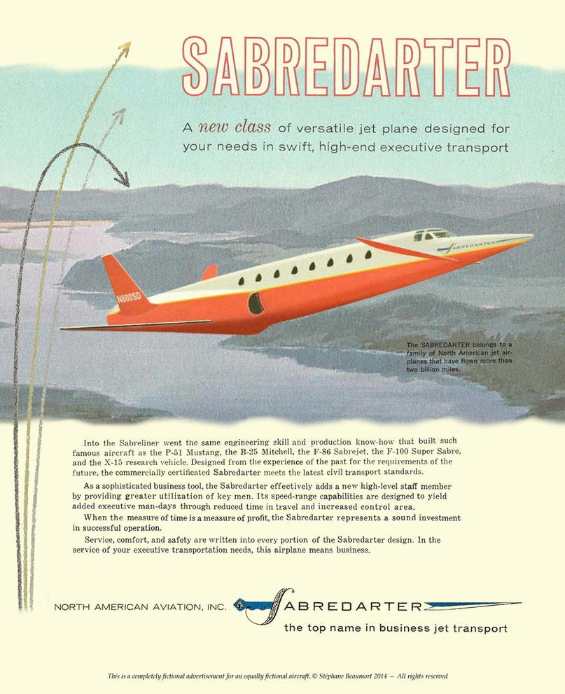 North American Saberdarter by Bispro