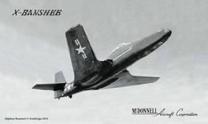 McDonnell X2H-1 ''X-Banshee'' by Bispro