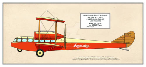 Aeromarine Passenger-Cargo Land Airplane
