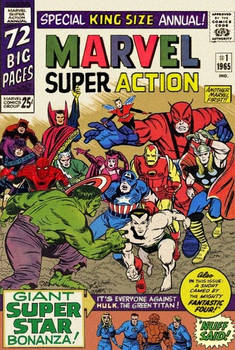 Marvel Super Action Annual #1 (imaginary comic)